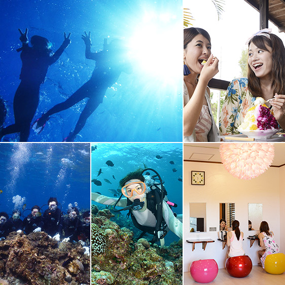 沖縄青の洞窟体験ダイビング・プレミアム