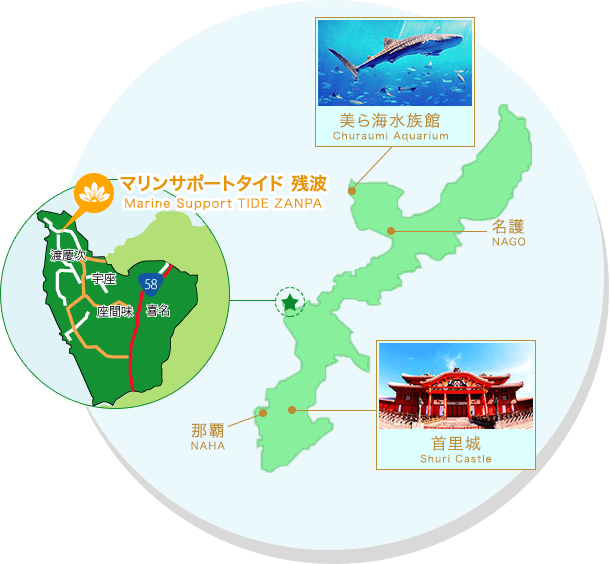 오키나와 MAP